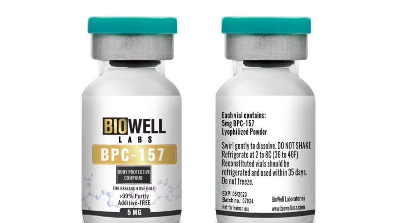 BPC 157 Peptide: Benefits, Side Effects & Where to Buy